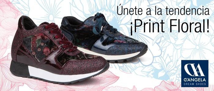 ¡Sneakers estampado floral! Gana las zapatillas «Must» de Temporada