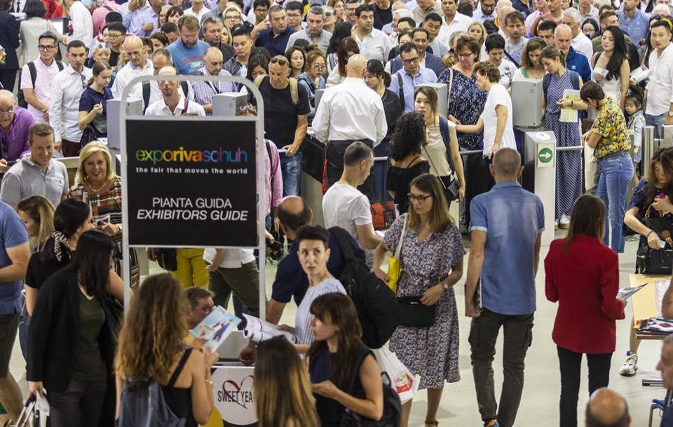 Éxito de D'Angela en la Feria Internacional Expo Riva Schuh 2019
