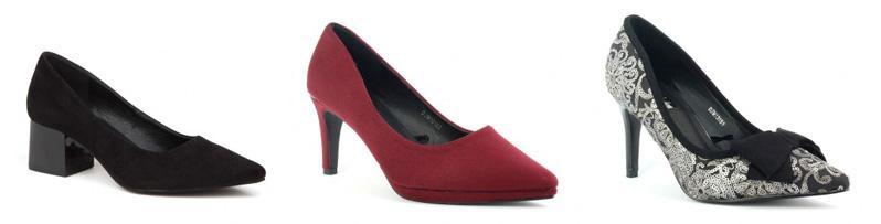 Colección Otoño-Invierno 2019/20 de D'Angela: Zapatos de Tacón