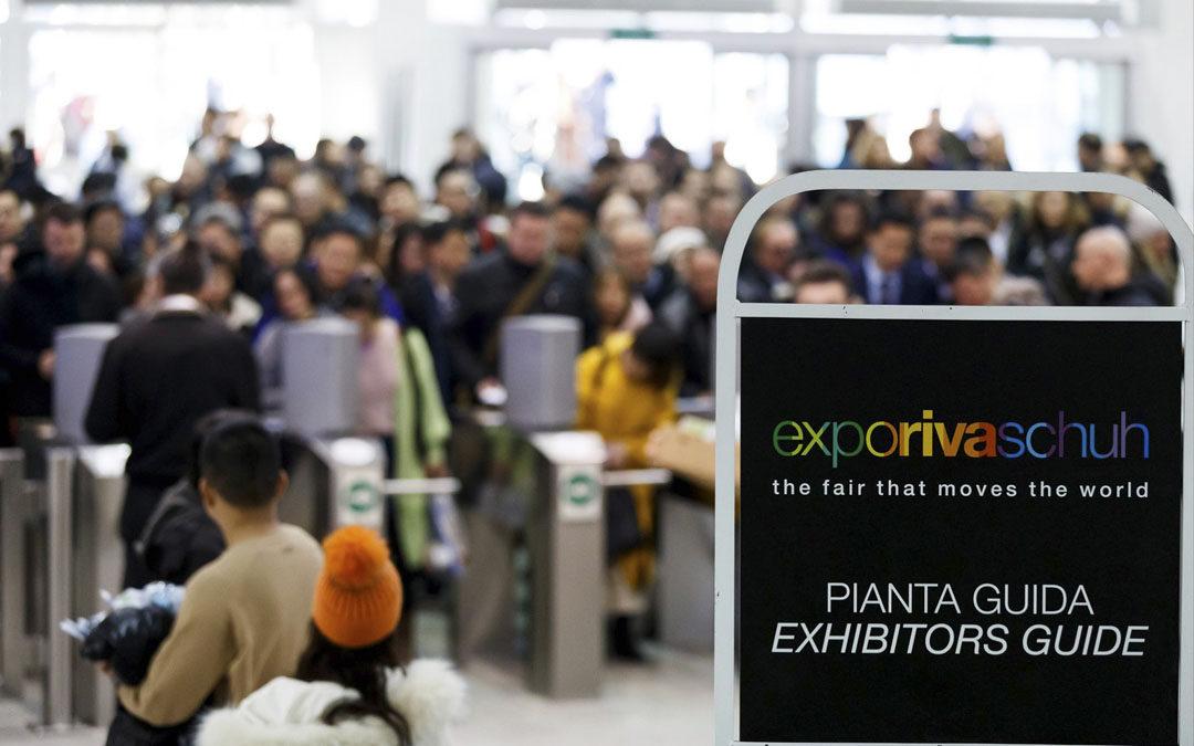 Gran Acogida de D'Angela en la Feria Expo Riva Schuh 2020
